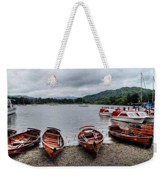 Ambleside Boats Weekender Tote Bag