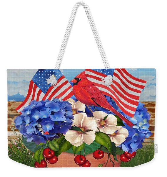 America The Beautiful-jp3210 Weekender Tote Bag