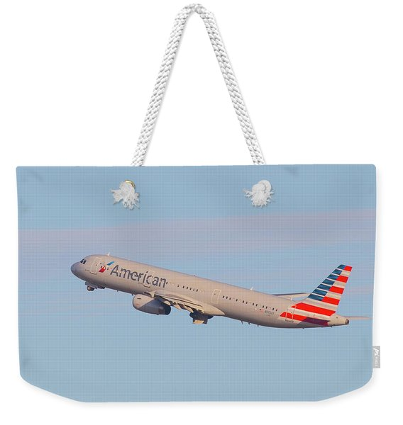 American Air Weekender Tote Bag