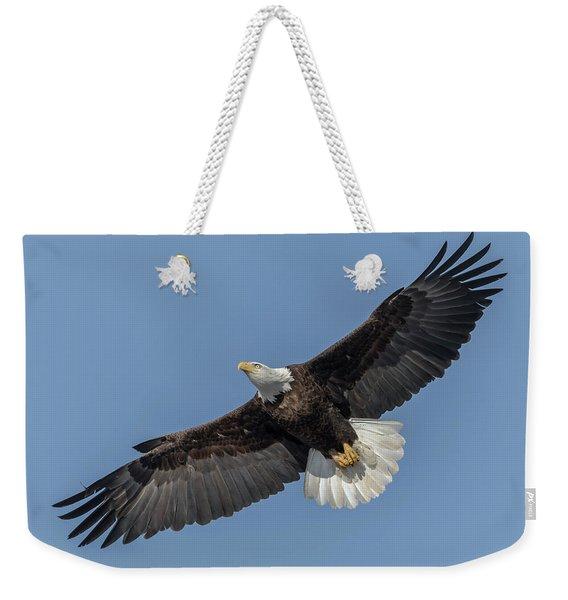 American Bald Eagle 2017-18 Weekender Tote Bag