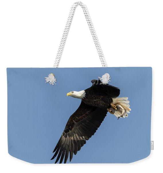 American Bald Eagle 2017-4 Weekender Tote Bag