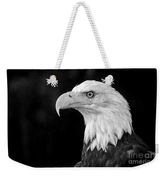American Bald Eagle Weekender Tote Bag