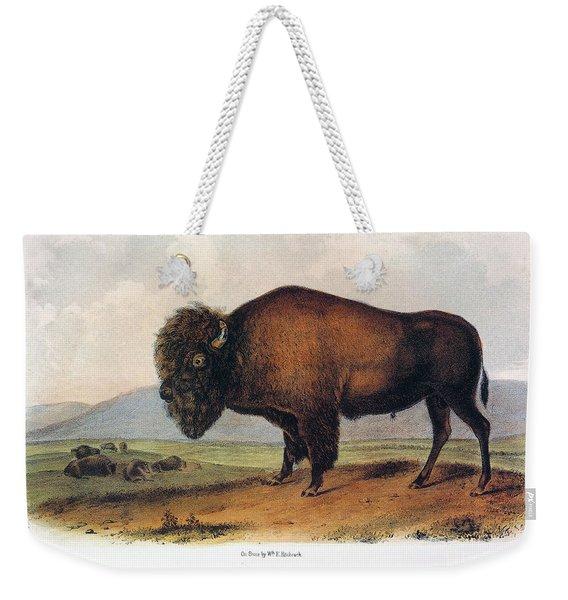 American Buffalo, 1846 Weekender Tote Bag