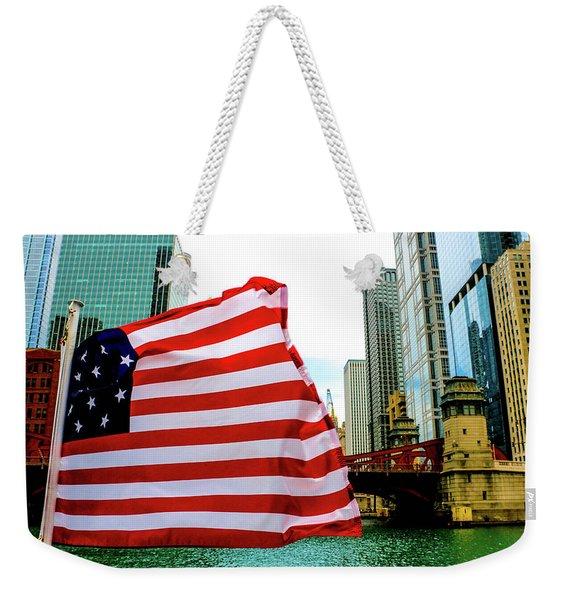 American Chi Weekender Tote Bag