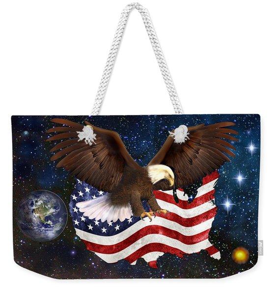 American Destiny Weekender Tote Bag