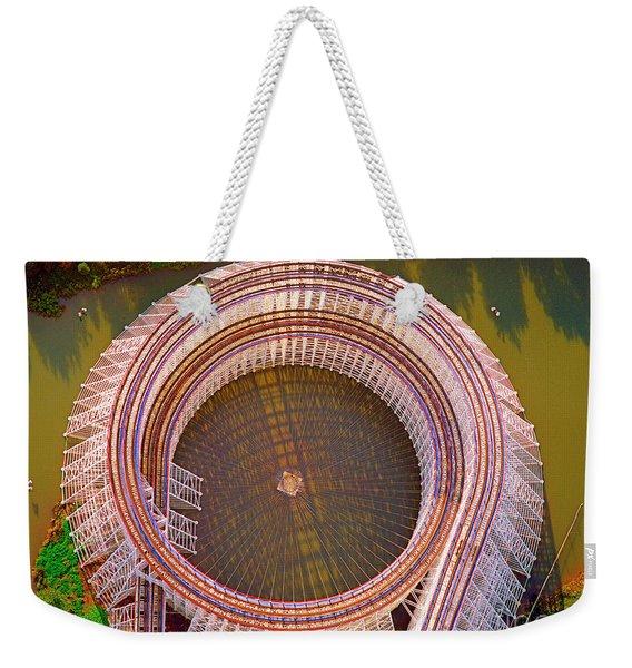 American Eagle Roller Coaster  Weekender Tote Bag
