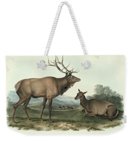 American Elk Weekender Tote Bag