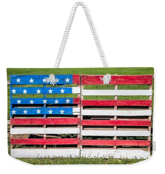 American Folk Art Weekender Tote Bag