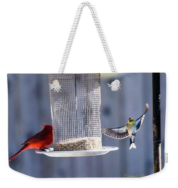 American Goldfinch Inbound Weekender Tote Bag