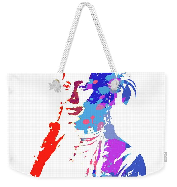 American Indian Woman Weekender Tote Bag