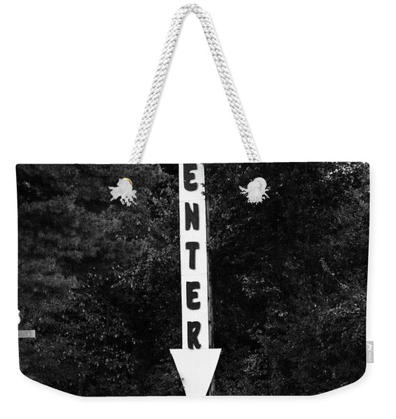 American Interstate - Missouri I-70 Bw Weekender Tote Bag