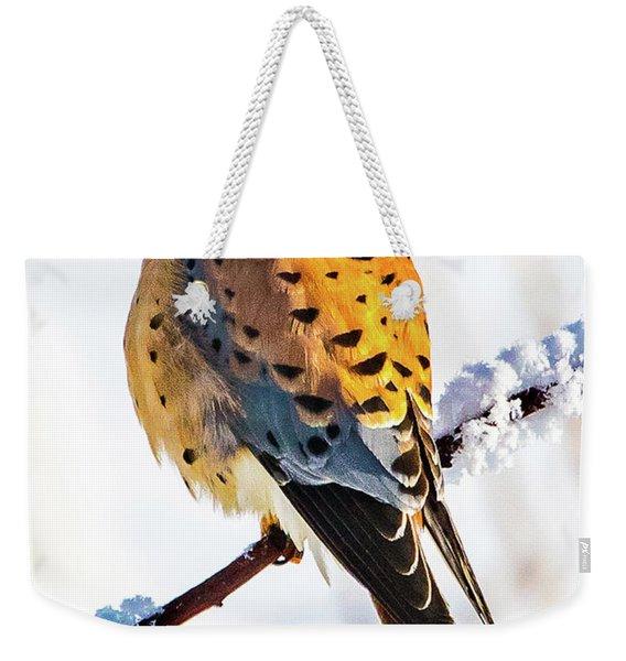 American Kestrel Weekender Tote Bag
