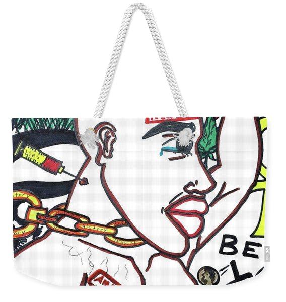American Made N.i.g.g.e.r. Weekender Tote Bag