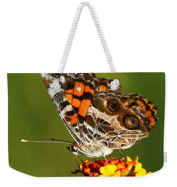 American Painted Lady Weekender Tote Bag