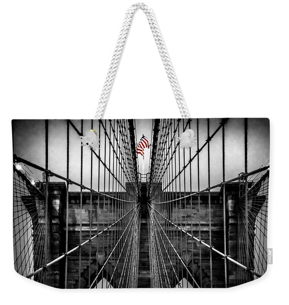 American Patriot Weekender Tote Bag