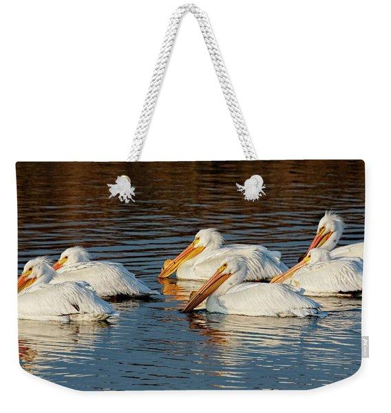 American Pelicans - 02 Weekender Tote Bag