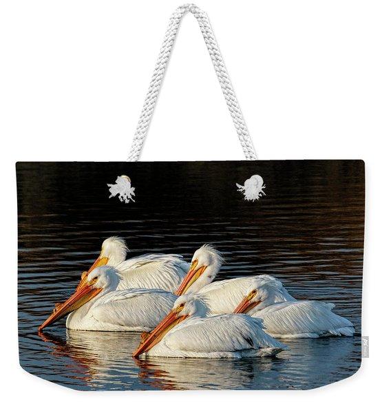 American Pelicans - 03 Weekender Tote Bag