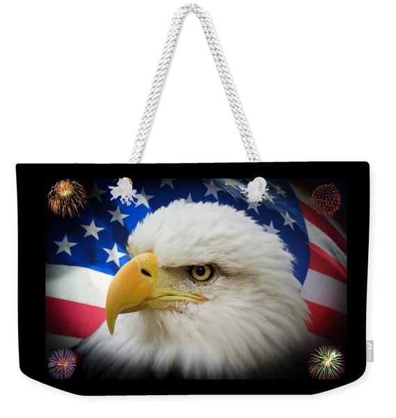 American Pride Weekender Tote Bag