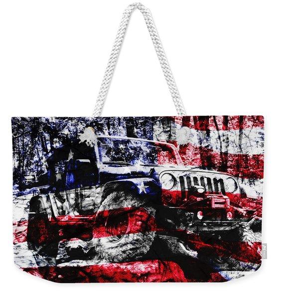 American Rock Crawler Weekender Tote Bag