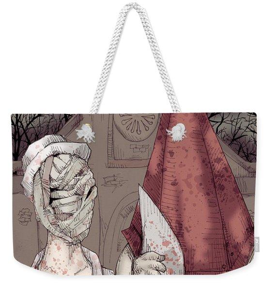 American Silent Weekender Tote Bag