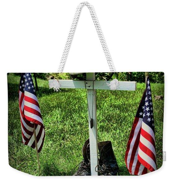 American Tribute  Weekender Tote Bag