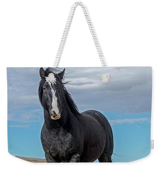 American Wild Horse Weekender Tote Bag