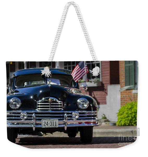 Americana Weekender Tote Bag