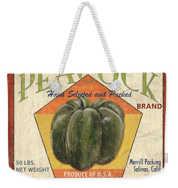 Americana Vegetables 1 Weekender Tote Bag
