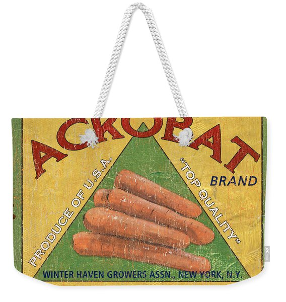 Americana Vegetables 2 Weekender Tote Bag
