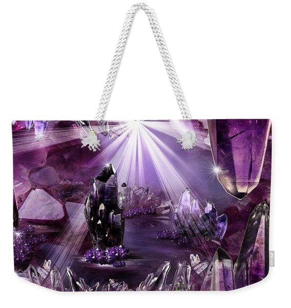 Amethyst Dreams Weekender Tote Bag