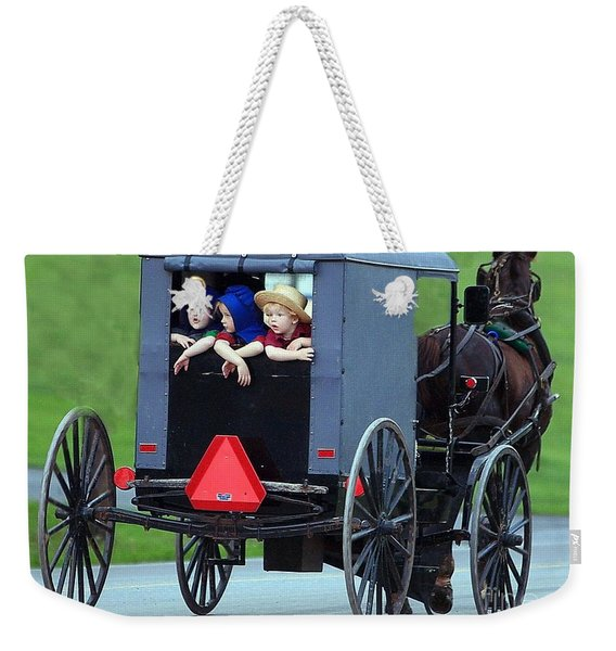 Amish Country Tour Weekender Tote Bag