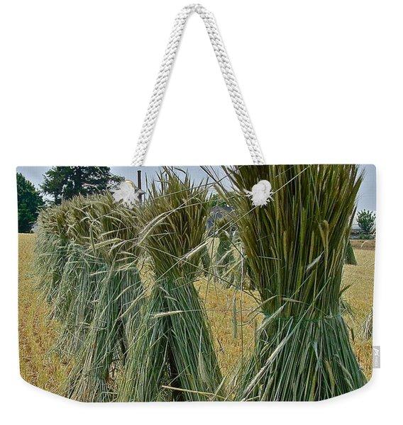 Amish Harvest Weekender Tote Bag