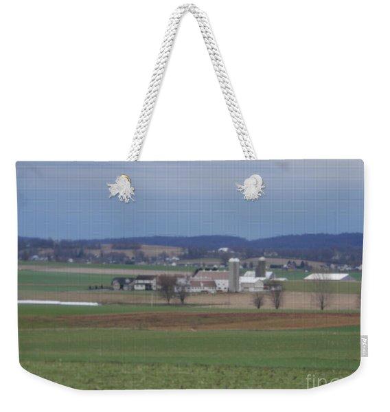 Amish Homestead 3 Weekender Tote Bag