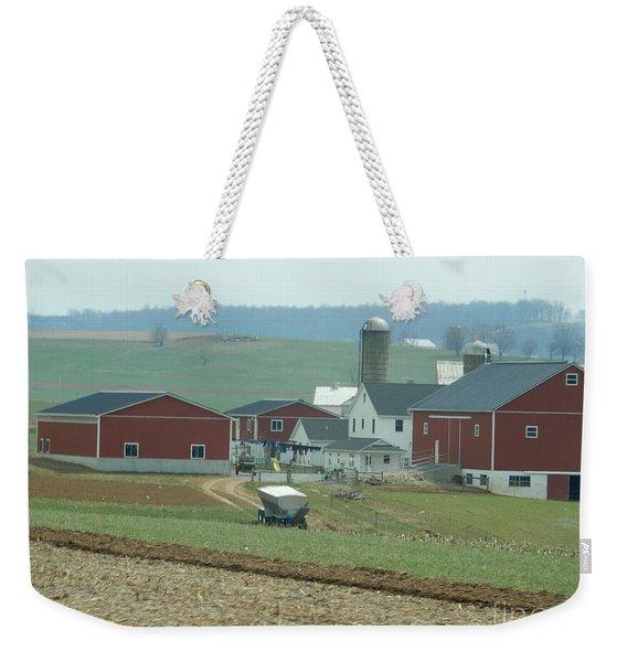 Amish Homestead 6 Weekender Tote Bag