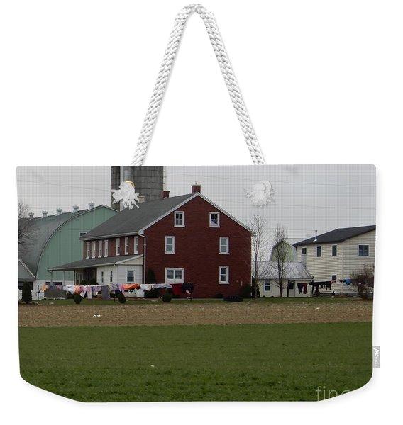 Amish Homestead 7 Weekender Tote Bag