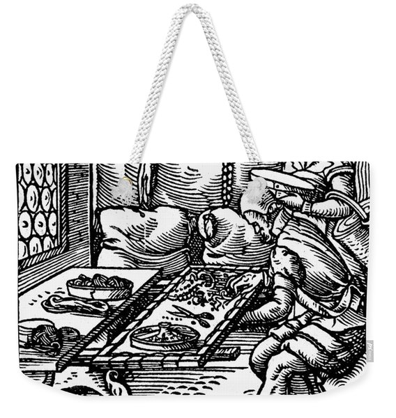 Amman: Silk Embroiderer Weekender Tote Bag