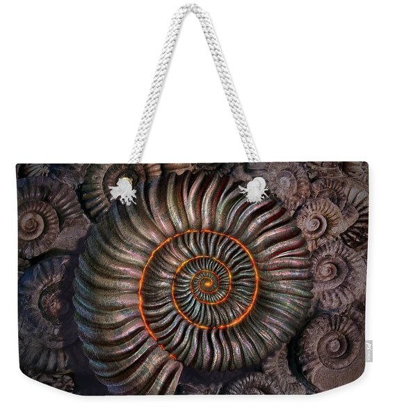 Ammonite 1 Weekender Tote Bag