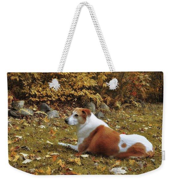 Among The Leaves Weekender Tote Bag