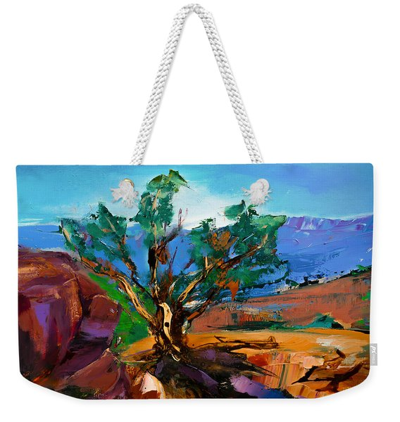 Among The Red Rocks - Sedona Weekender Tote Bag