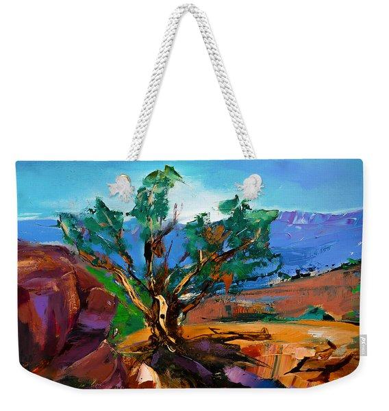 Among The Red Rocks - Sedona Weekender Tote Bag
