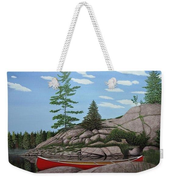 Among The Rocks II Weekender Tote Bag