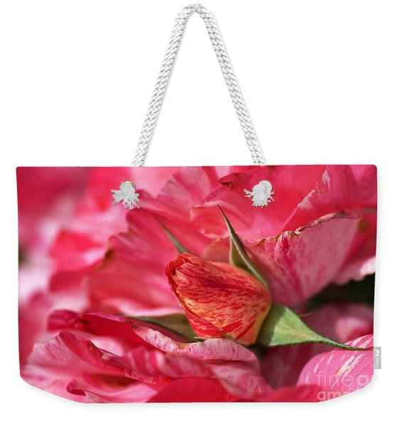 Amongst The Rose Petals Weekender Tote Bag