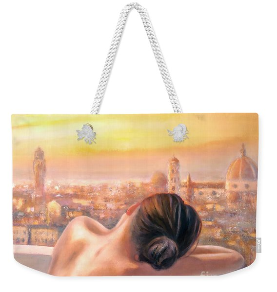 Amore Di Firenze Love Of Florence Weekender Tote Bag