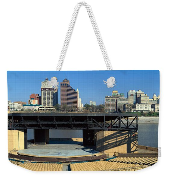 Amphitheatre On Island In Middle Weekender Tote Bag