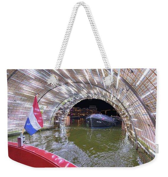 Amsterdam Light Festival Weekender Tote Bag