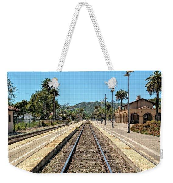 Amtrak Station, Santa Barbara, California Weekender Tote Bag