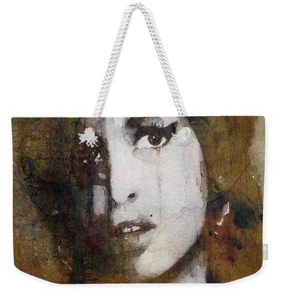 Amy Winehouse Love Is A Losing Game  Weekender Tote Bag