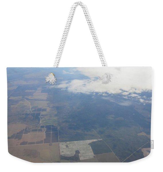 An Aerial View Of Colombus Weekender Tote Bag