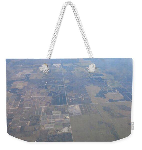 An Aerial View Of Columbus Weekender Tote Bag
