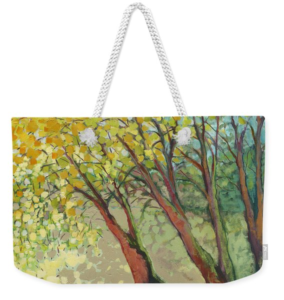 An Afternoon At The Park Weekender Tote Bag